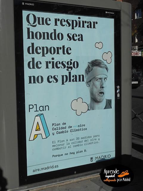 Aprende español callejeando por Madrid: No es plan