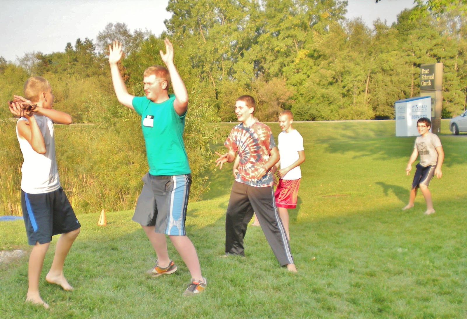 Peace Junior High Youth Group Gross Games Pictures