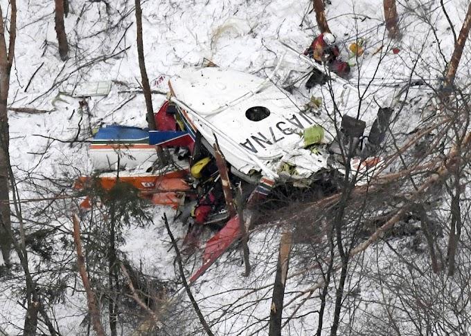 Queda de helicóptero deixa nove mortos no Japão