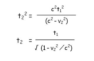 Dilatacion del tiempo en Relatividad Especial