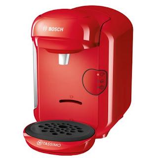 Cumpara de aici Espressor cafea Bosch Tassimo Vivy II rosu