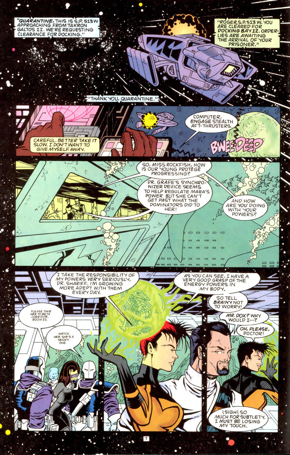 Legion of Super-Heroes (1989) 51 Page 7