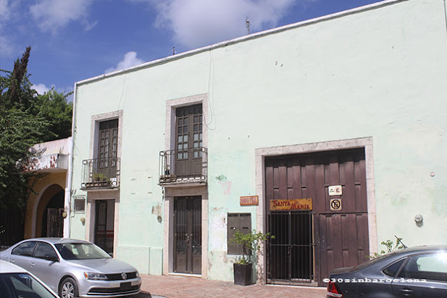 Valladolid street in México