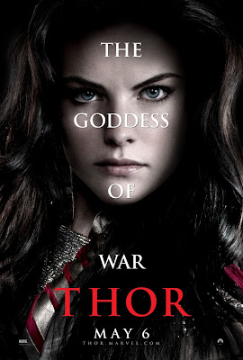 Thor Character Movie Poster Set 1 - Jaimie Alexander as Sif, The Goddess of War