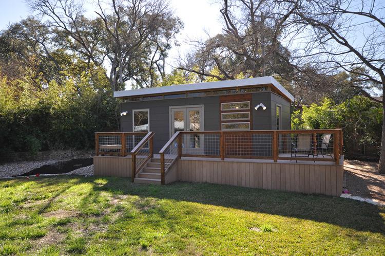 TINY HOUSE TOWN: 14' x 24' Modern Modular Cabin on