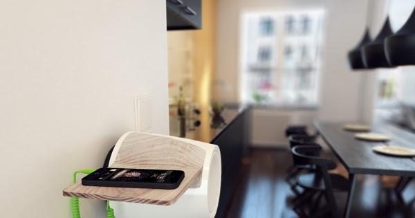 Gadgets Korner Wall Mounted Speaker For Smartphone