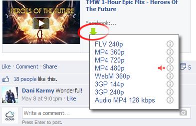 Inilah 5 Metode Cara Download Video Dari Facebook ke PC / Handphone Anda 4