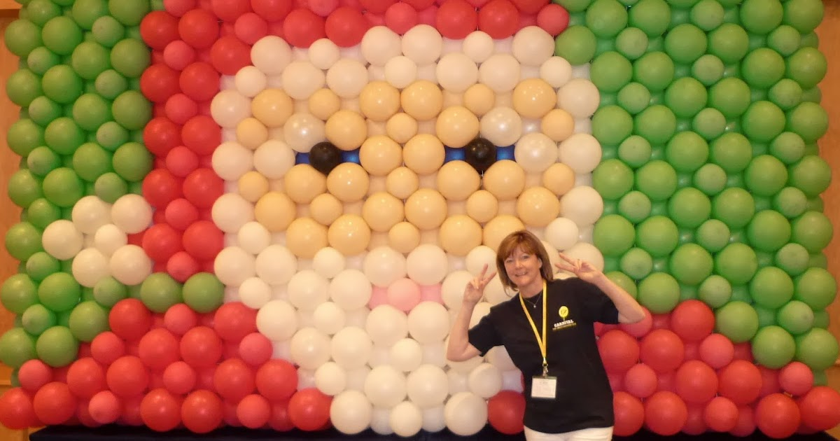 The Very Best Balloon Blog: A Balloon Wall backdrop perfect for ...