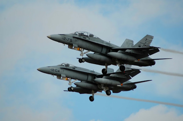 Operación 'Eagle Eye' del mando de Defensa y Operaciones Aéreas