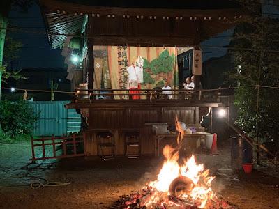 久伊豆神社おかがり祭里神楽(平成30年12月6日)