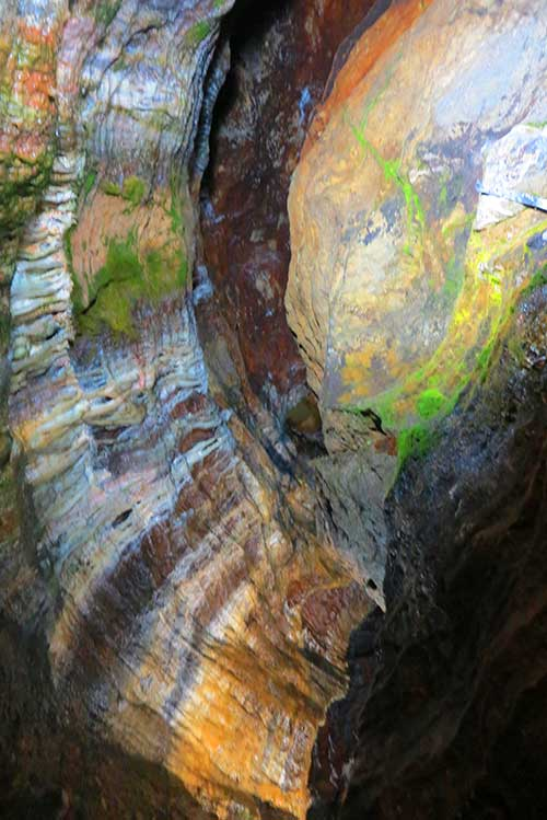 Blue John Cavern, Hope Valley, Derbyshire, UK.