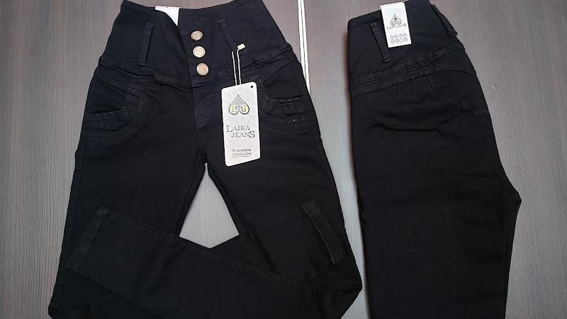 Pantalon Levanta Pompis Corte Colombiano color negro