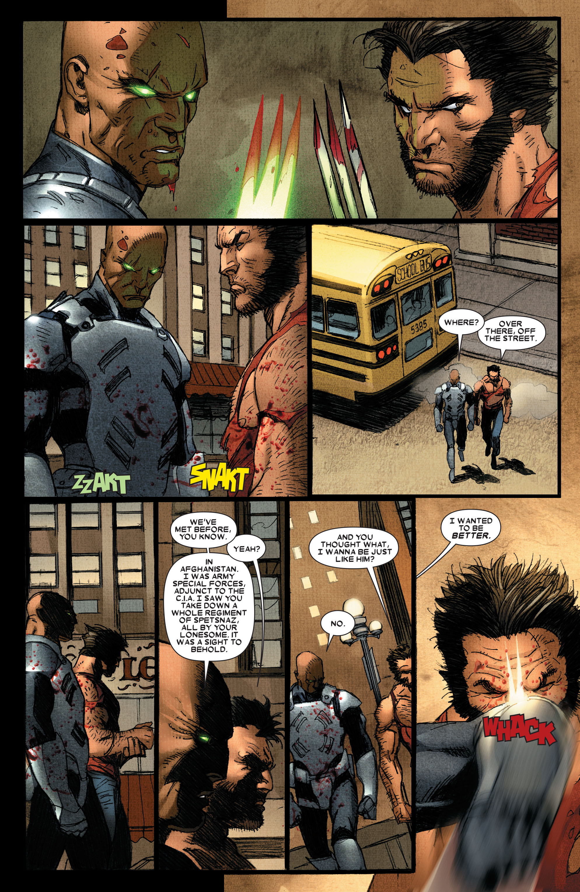 Read online Wolverine: Weapon X comic -  Issue #4 - 16
