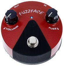 Dunlop Germanium Fuzz Face Mini Pedal: Cualidades