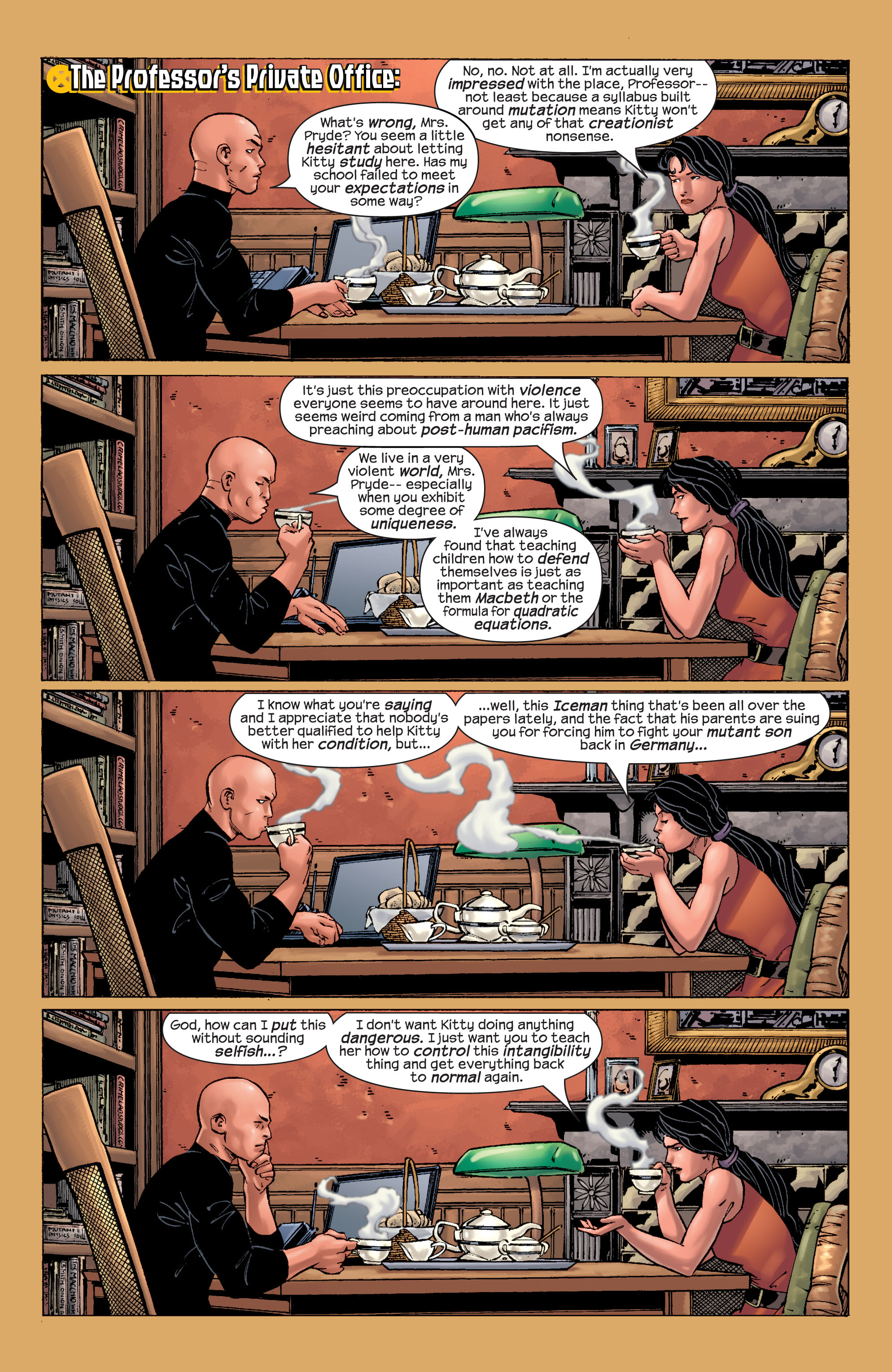 Read online Ultimate X-Men comic -  Issue #21 - 15