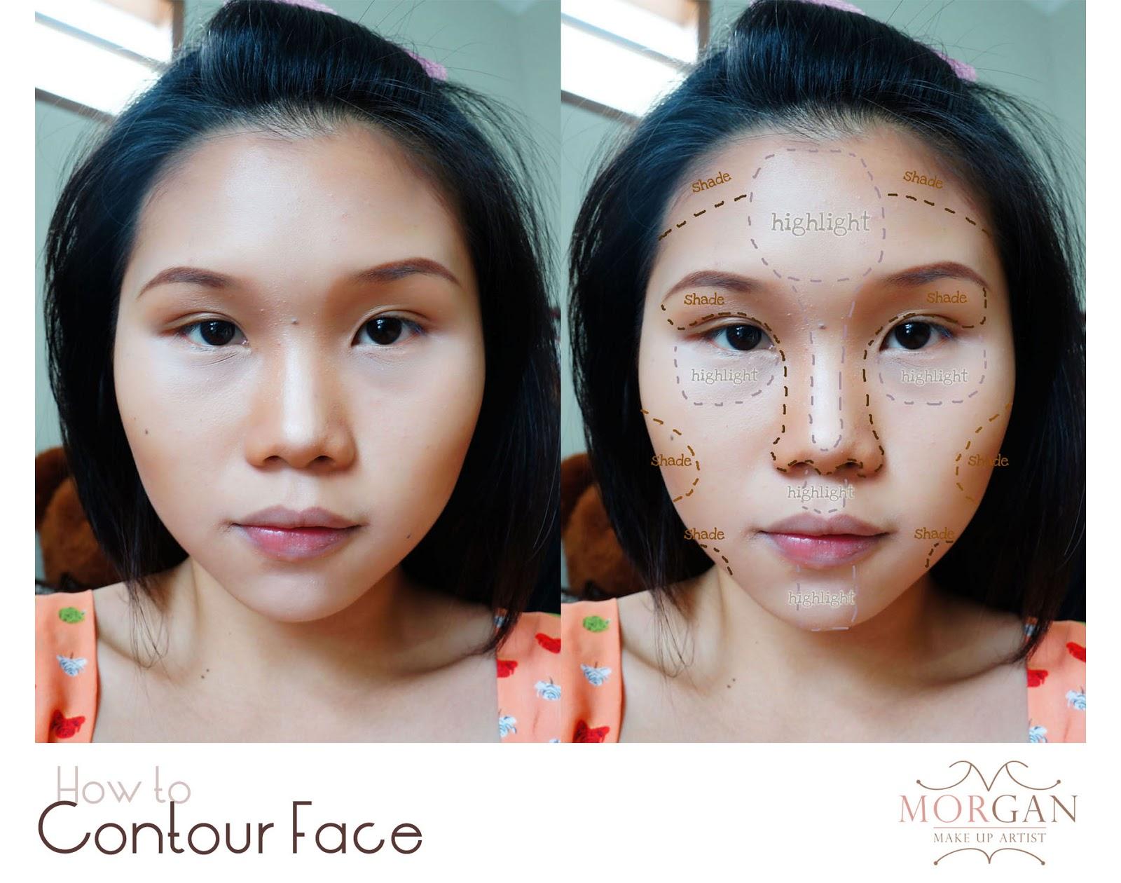 morgan make up artist: how to make up like the singapore