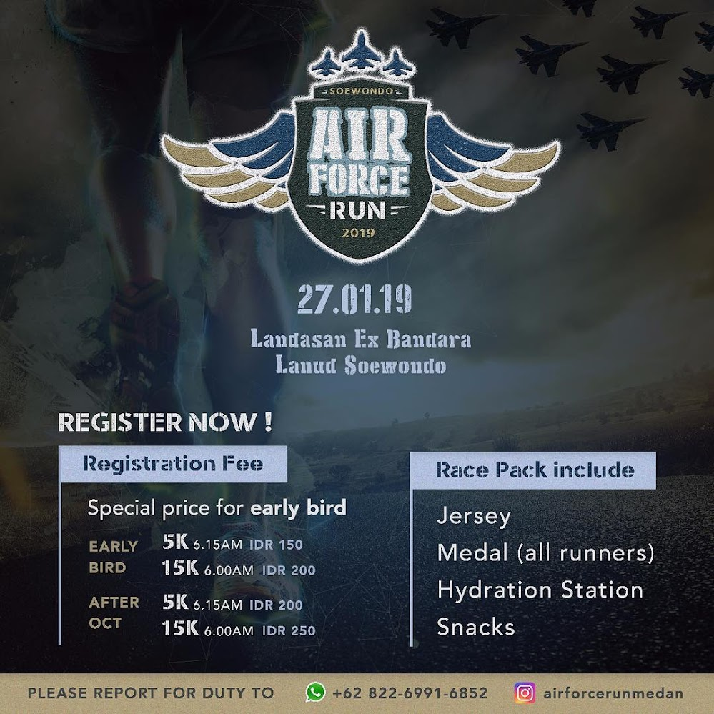 Air Force Run - Medan • 2019