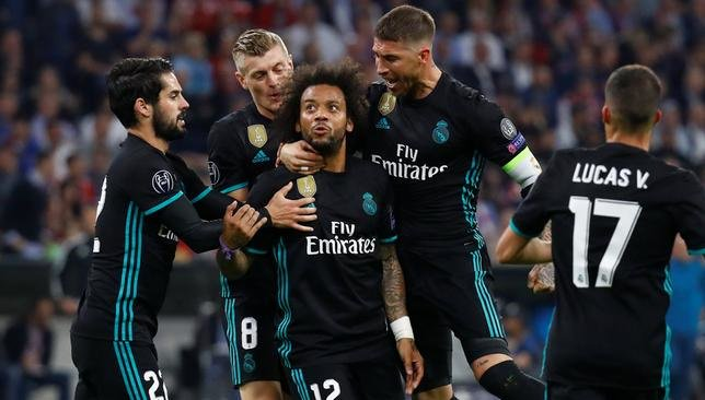 ريال مدريد وبايرن ميونخ دوري ابطال اوروبا