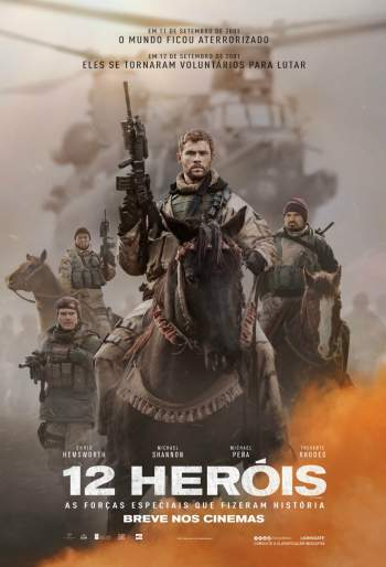 12 Heróis Torrent - BluRay 720p/1080p Dublado/Legendado
