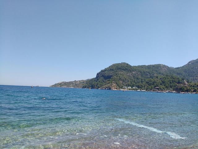 Пляж Турунча. Пеший поход из Мармариса в Турунч.