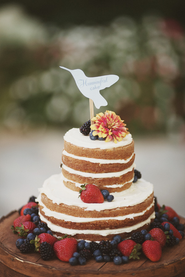 Life of a Vintage Lover: Naked Wedding Cakes