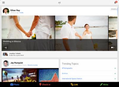 Google+ for iOS