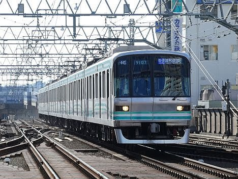 東急目黒線 東京メトロ南北線直通 各停 浦和美園行き2 東京メトロ9000系FCLED
