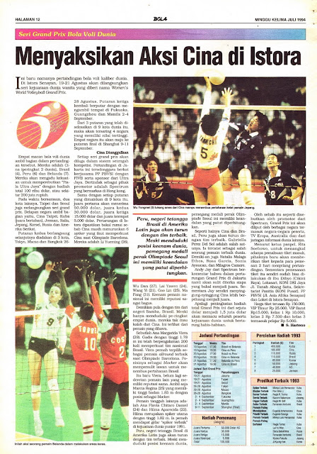 Tabloid BOLA EDISI 543 MINGGU KELIMA JULI 1994