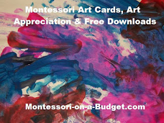 Free Downloads: Montessori Art Cards & Art Appreciation {Montessori on a Budget}