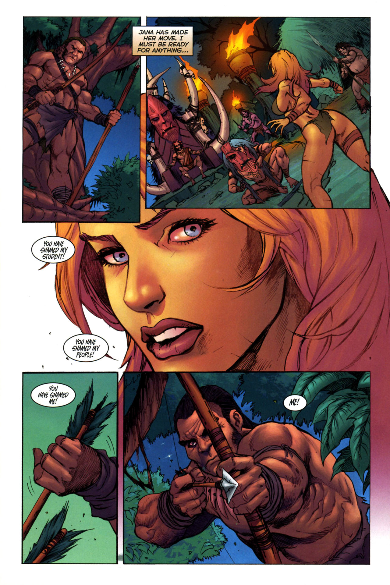Read online Jungle Girl comic -  Issue #3 - 17