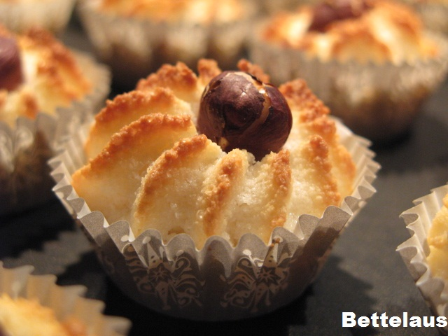 Bettelaus: Kransekage - petit four i form