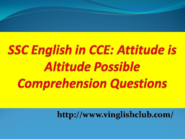 Attitude-is-Altitude-Possible-Comprehension-Questions-Class-10