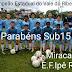 Sub-15 de Miracatu é campeão do 47º campeonato estadual fase sub regional do Vale do Ribeira
