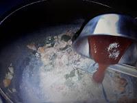 adding red chili sauce and tomato sauce image