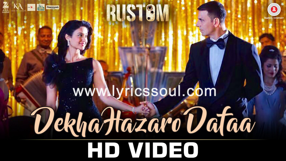 The Dekha Hazaro Dafa lyrics from 'Rustom', The song has been sung by Arijit Singh, Palak Muchhal, . featuring Akshay Kumar, Ileana D'Cruz, Arjan Bajwa, Esha Gupta. The music has been composed by Jeet Gannguli, , . The lyrics of Dekha Hazaro Dafa has been penned by Manoj Muntashir
