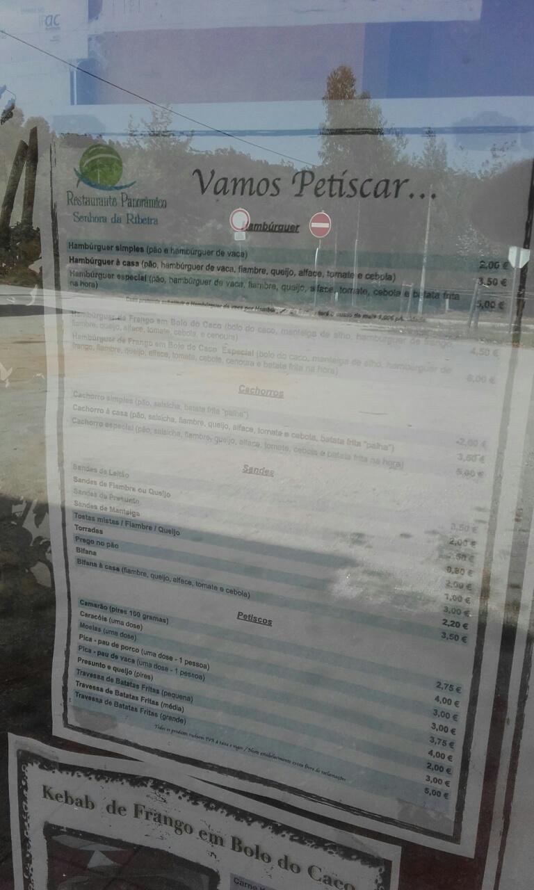 Petiscos restaurante Panorâmico