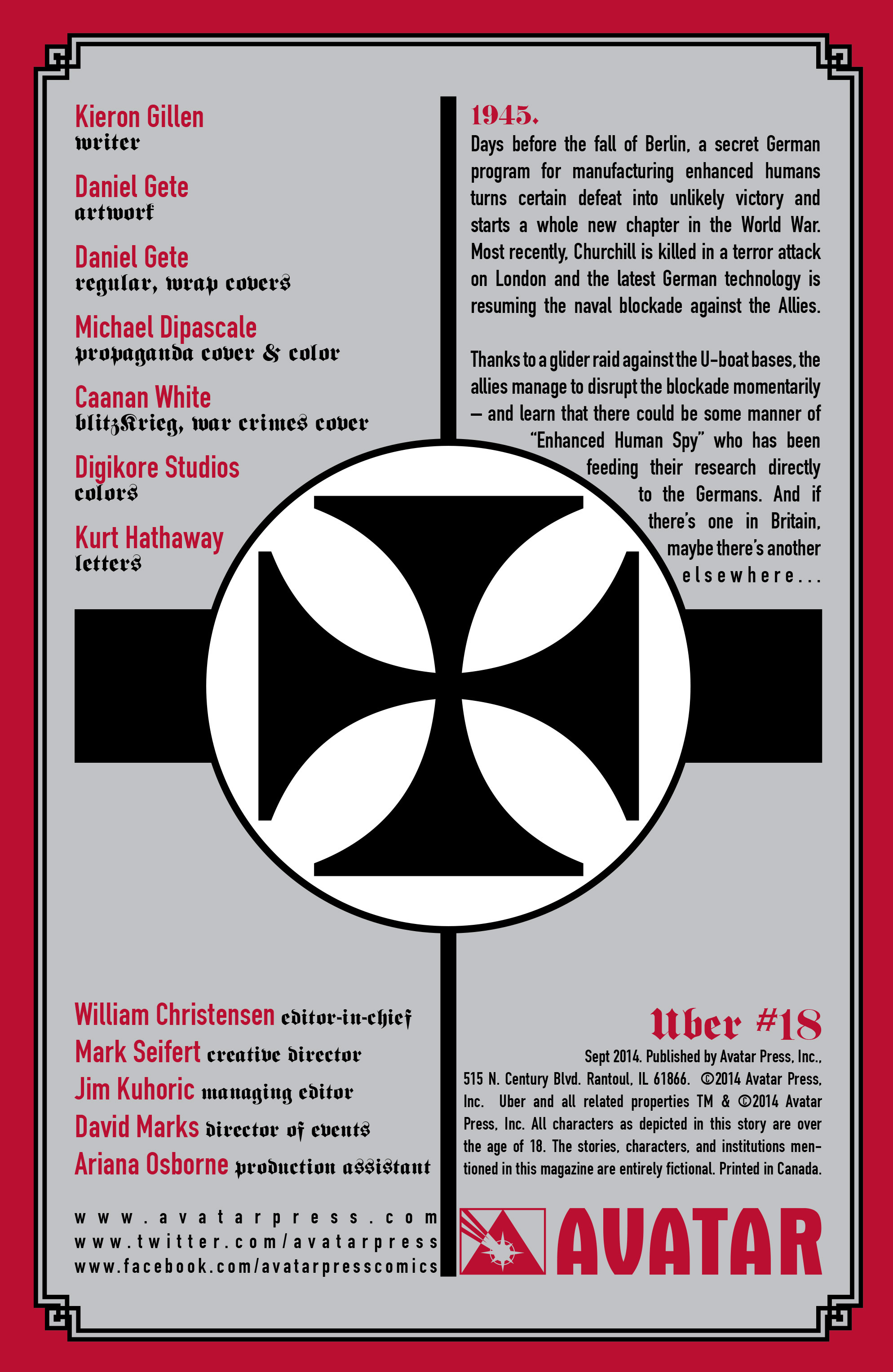 Read online Uber comic -  Issue #18 - 6