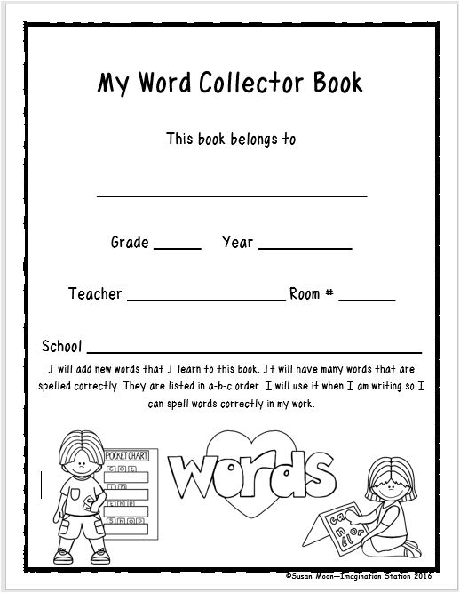 title pages for school books