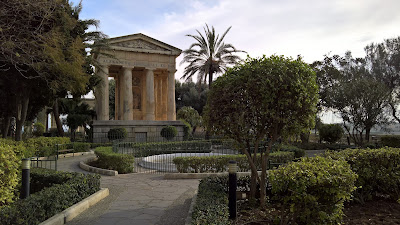 Lower Barrakka Gardens La Valletta.