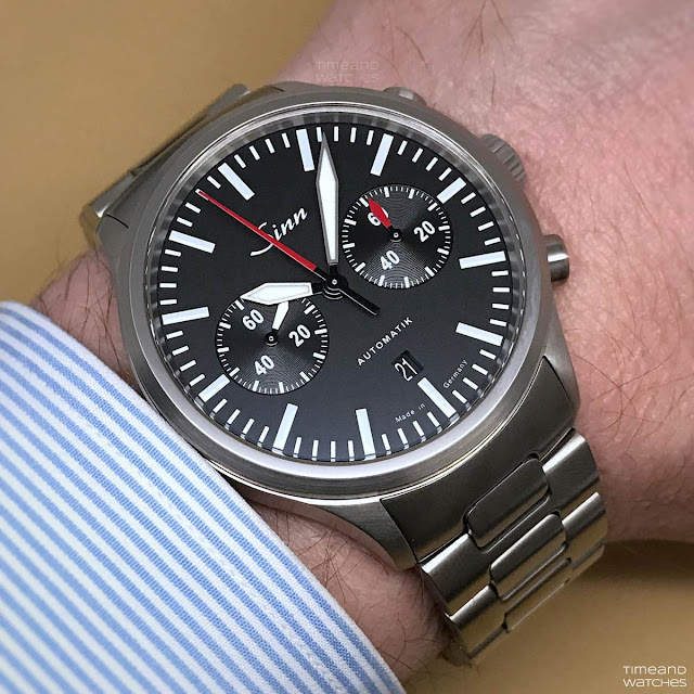 Sinn 936 Chronograph Baselworld 2018 wristshot