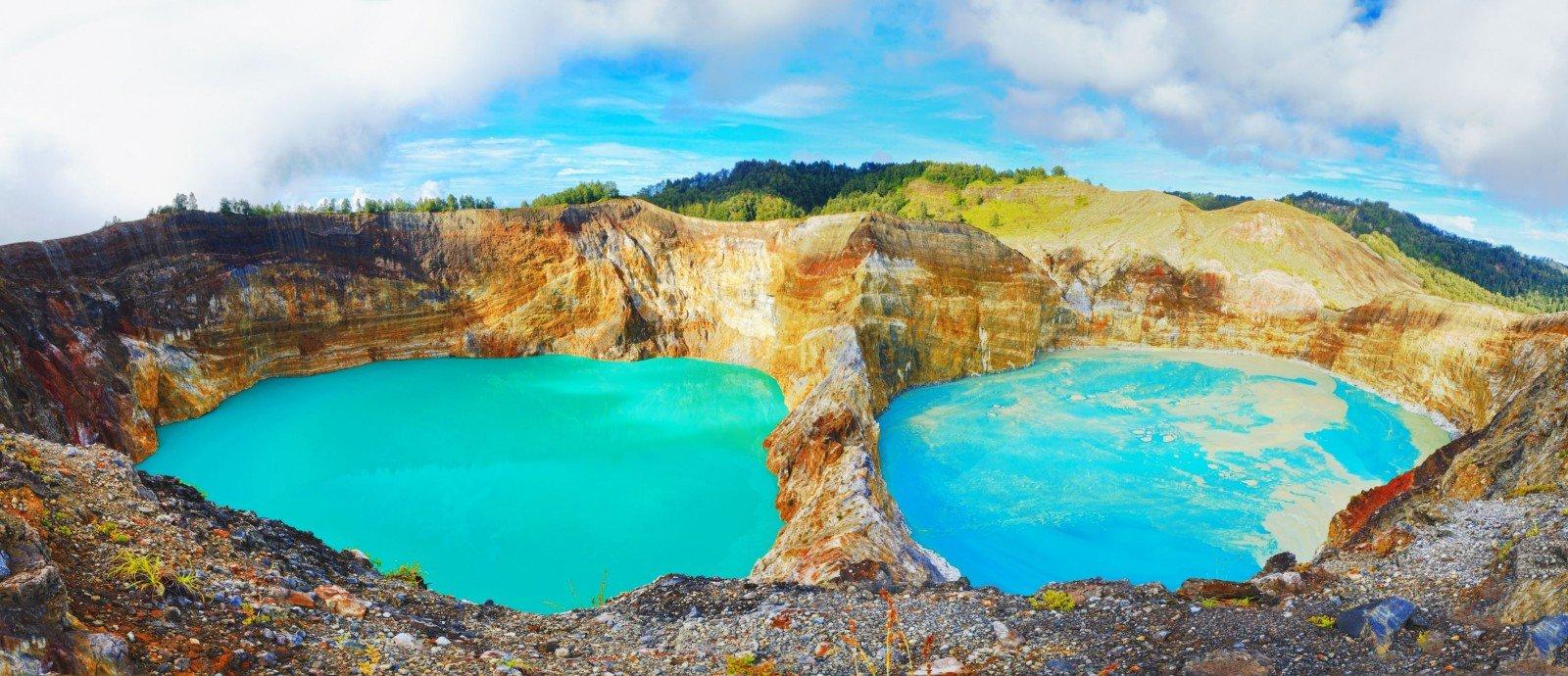 أفضل الجبال البركانية لرياضة التسلق في إندونيسيا