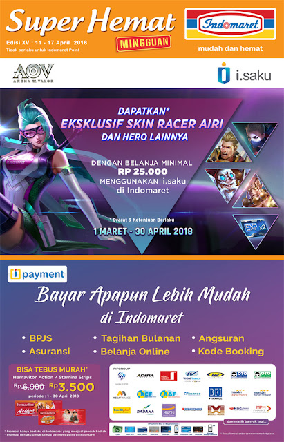 Katalog Harga Promo INDOMARET Super Hemat 11 - 17 April 2018