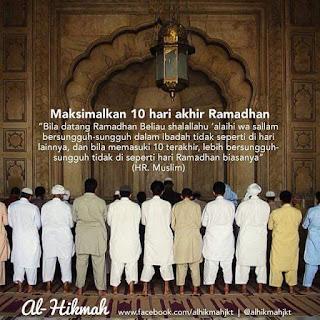 21 Ramadan | Sedikit Nurkilan dan Perkongsian