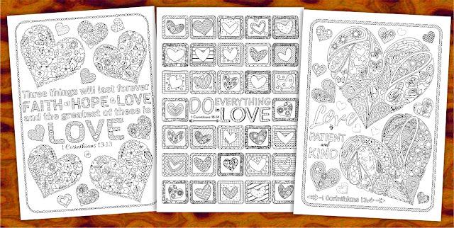 Corinthians bible coloring pages
