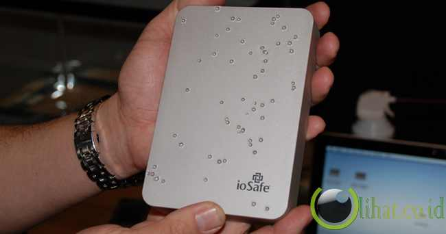 External hdd/ssd iosafe rugged portable