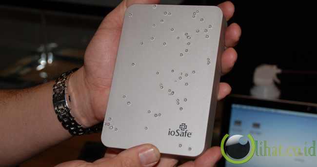 External hdd/ssd iosafe rugged portable