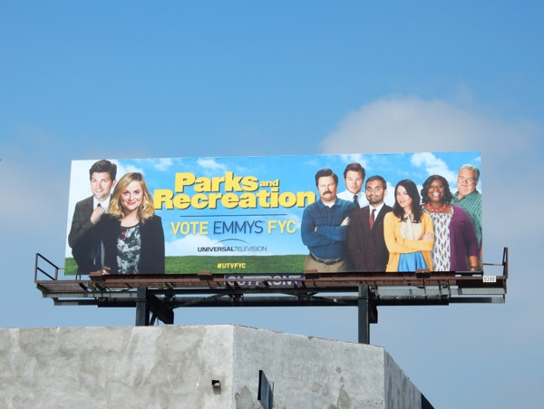 Parks and Recreation 2015 Emmy billboard