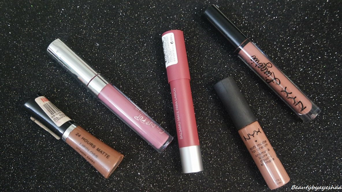 BEAUTY BY AYESHAA: Top 5 Favorite Lipsticks