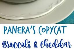 Panera's Copycat Broccoli and Cheddar Instant Pot Soup