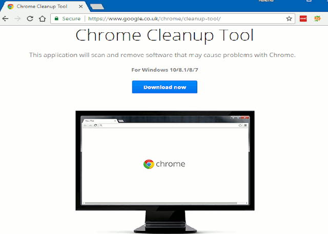 How to search Chrome Malware Removal and clean your Windows PC